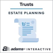 Adams® Amendment to Living Trust, 1-Use Interactive Digital Legal Form