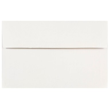 JAM Paper® A10 Invitation Envelopes, 6 x 9.5, White, 1000/carton (12039B)