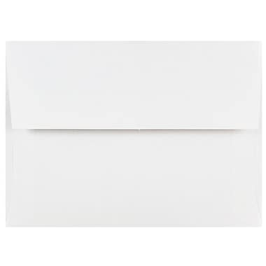 JAM Paper® A6 Invitation Envelopes, 4.75 x 6.5, White, 1000/carton (31820B)
