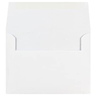 JAM PaperMD – Enveloppes format A6 à rabat en V, blanches, paq./250