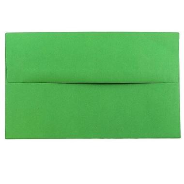 JAM Paper® A10 Invitation Envelopes, 6 x 9.5, Brite Hue Green Recycled, 1000/carton (35633B)