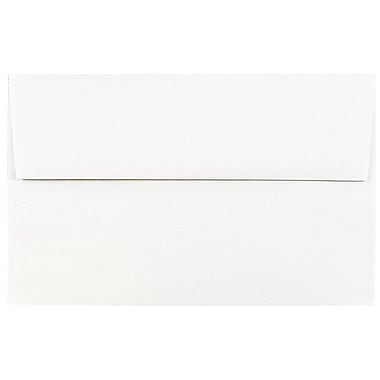 JAM Paper® A8 Invitation Envelopes, 5.5 x 8.125, Talc White Recycled, 25/pack (36670)