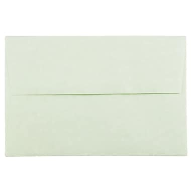 JAM Paper® A8 Invitation Envelopes, 5.5 x 8.125, Parchment Green, 25/pack (66053)