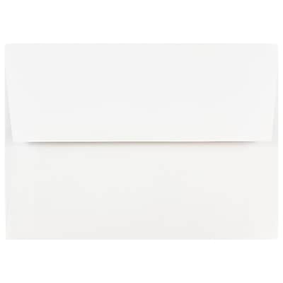 JAM Paper A7 Invitation Envelopes 5.25 x 7.25 White 25 pack 73767