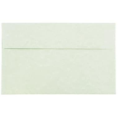 JAM Paper® A10 Invitation Envelopes, 6 x 9.5, Parchment Green Recycled, 1000/carton (82143B)