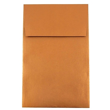 JAM Paper® A10 Policy Envelopes, 6 x 9.5, Stardream Metallic Copper, 25/pack (187021)