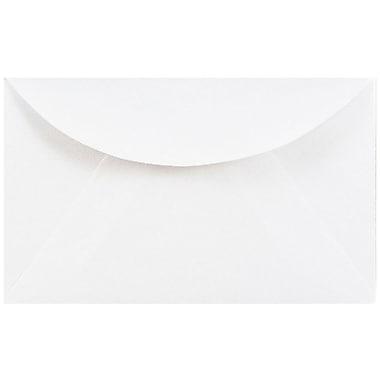 JAM Paper® 3drug Mini Small Envelopes, 2 5/16 x 3 5/8, White, 1000/carton (0201214B)