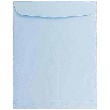 JAM Paper® 10 x 13 Open End Catalog Envelopes, Baby Blue, 100/pack (1286188)