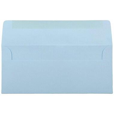 JAM Paper® #10 Business Envelopes, 4 1/8 x 9 1/2, Baby Blue, 1000/carton (2155778B)