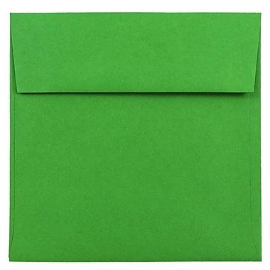 JAM Paper® 6 x 6 Square Envelopes, Brite Hue Green Recycled, 1000/carton (2792267B)