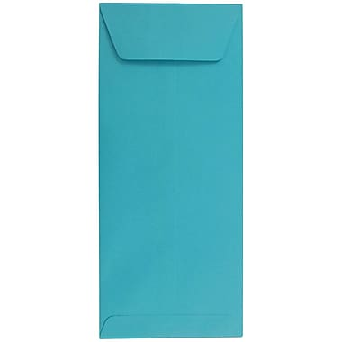 JAM Paper® #12 Policy Envelopes, 4.75 x 11, Brite Hue Sea Blue Recycled, 1000/carton (3156397B)