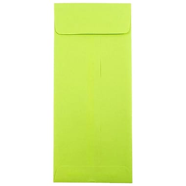 JAM Paper® #12 Policy Envelopes, 4.75 x 11, Brite Hue Lime Green, 25/pack (3156398)