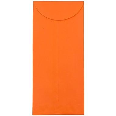 JAM Paper® #12 Policy Envelopes, 4.75 x 11, Brite Hue Orange Recycled, 1000/carton (3156399B)