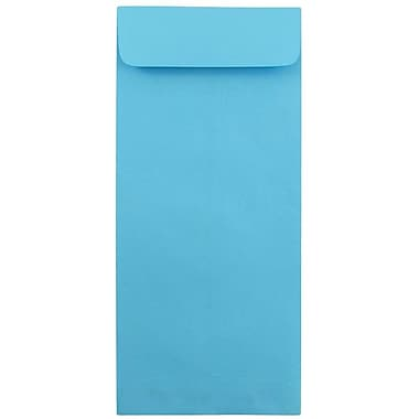 JAM Paper® #12 Policy Envelopes, 4.75 x 11, Brite Hue Blue Recycled, 1000/carton (3156401B)