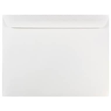 JAM Paper® 10 x 13 Booklet Envelopes, White, 1000/carton (04023222B)