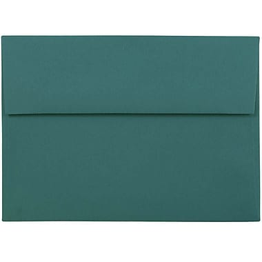 JAM Paper® A7 Invitation Envelopes, 5.25 x 7.25, Teal Blue, 25/pack (21517152)