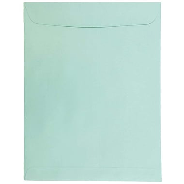 JAM Paper® 10 x 13 Open End Catalog Envelopes, Aqua Blue, 25/pack (31287539)