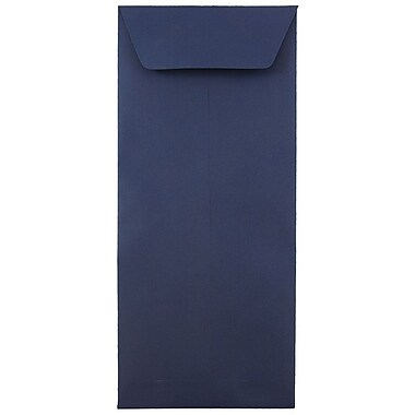 JAM Paper® #12 Policy Envelopes, 4.75 x 11, Navy Blue, 25/pack (33966427)