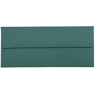 JAM Paper® #10 Business Envelopes, 4 1/8 x 9 1/2, Teal Blue, 25/pack (63924024)