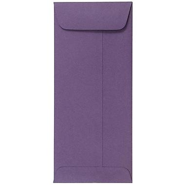 JAM Paper® #10 Policy Envelopes, 4 1/8 x 9 1/2, Dark Purple, 1000/carton (563912518B)