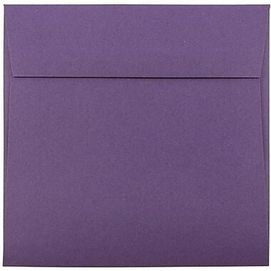 JAM Paper® 6 x 6 Square Envelopes, Dark Purple, 25/pack (563912522)