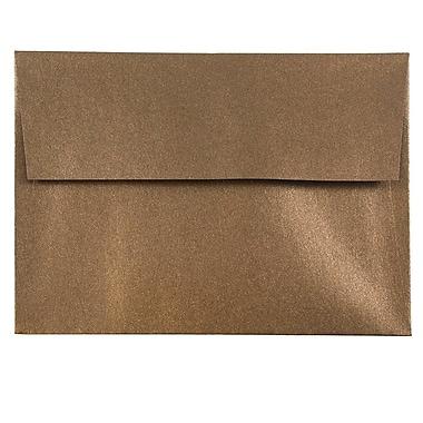 JAM Paper® A6 Invitation Envelopes, 4.75 x 6.5, Stardream Metallic Bronze, 1000/carton (GCST652B)
