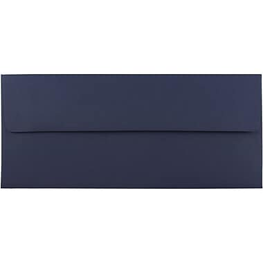JAM Paper® #10 Business Envelopes, 4 1/8 x 9 1/2, Navy Blue, 1000/carton (LEBA367B)