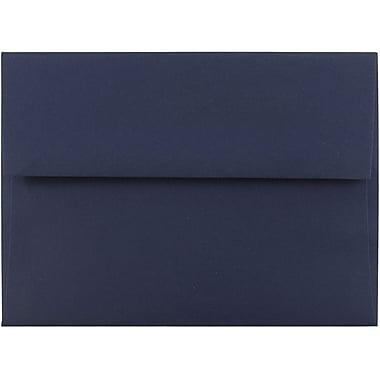 JAM Paper® A6 Invitation Envelopes, 4.75 x 6.5, Navy Blue, 25/pack (LEBA667)