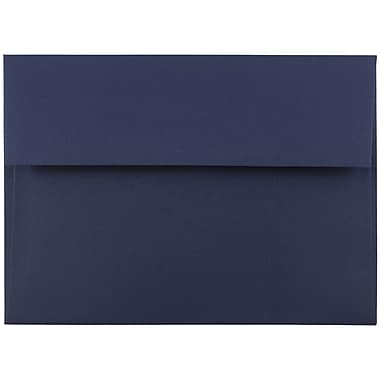 JAM Paper® A7 Invitation Envelopes, 5.25 x 7.25, Navy Blue, 25/pack (LEBA717)