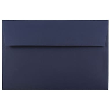 JAM Paper® A10 Invitation Envelopes, 6 x 9.5, Navy Blue, 25/pack (LEBA867)