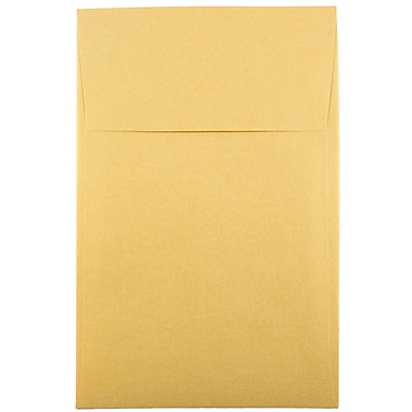 JAM Paper® A10 Policy Envelopes, 6 x 9.5, Stardream Metallic Gold, 1000/carton (V018304B)
