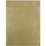 JAM Paper Peel & Seal Heavy Duty Tyvek Envelope, 10 x 13, Gold, 10/Pack (v021378b)