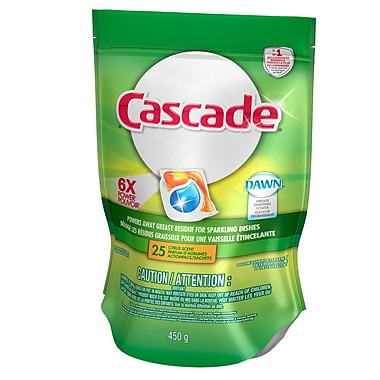 Cascade Dishwasher Detergent, 2-in-1 Action Pacs, Citrus
