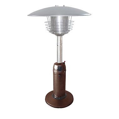 Paramount PH-T-107-MK Table Top Patio Heater Mocha Powder Coated Steel