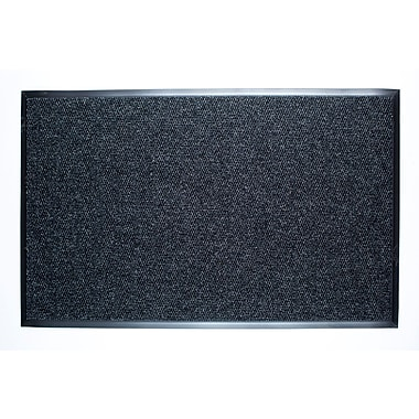 Dura Nop Entrance Mats 3' x 5' w/Edging, Charcoal