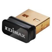 Edimax est conforme aux normes sans fil 802.11n avec taux de transfert de données jusqu'à 150 Mb/s, 6 x 3,5 x 0,7, noir, 120/ctn