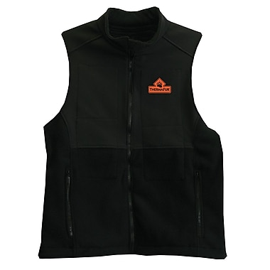 TechNiche Thermafur™ Air Activated soft-shell Heating Vest, Black, Small