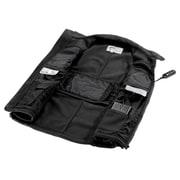 TechNiche IONGEARMC — Veste chauffante à batterie, noir