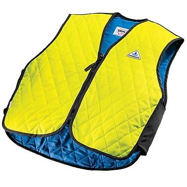 TechNiche HYPERKEWLMC — Veste de sport à refroidissement par évaporation d'eau, vert fluo, TTG
