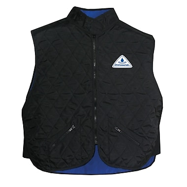 TechNiche HYPERKEWL™ Evaporative Cooling Vest, Deluxe Black, 3XL