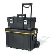 Keter Multiple Storage Plastic Portable Tool Box & Utility Cart