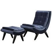Kingstown Home Charlotte Chair and Ottoman Set