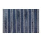 Fab Rugs Estate Hand-Woven Blue Indoor/Outdoor Area Rug; 3' x 5'