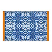Fab Rugs World Blue Indoor/Outdoor Area Rug; 3'x 5'