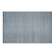 Fab Rugs Estate Hand-Woven Blue Indoor/Outdoor Area Rug; 2' x 3'