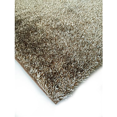 Rug Factory Plus Amore Shag Brown Area Rug; 7'6'' x 10'2''