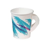 Solo Cups 8 Oz Jazz Hot Paper Cups with Handles Jazz Design