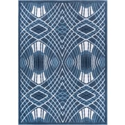Well Woven Dulcet Blue Area Rug; 7'10'' x 9'10''
