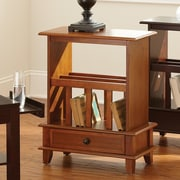 Steve Silver Furniture Jordan End Table; Oak