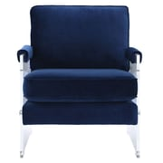 TOV Serena Arm Chair; Navy